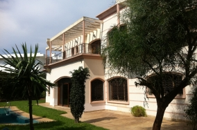 Villa à casablanca