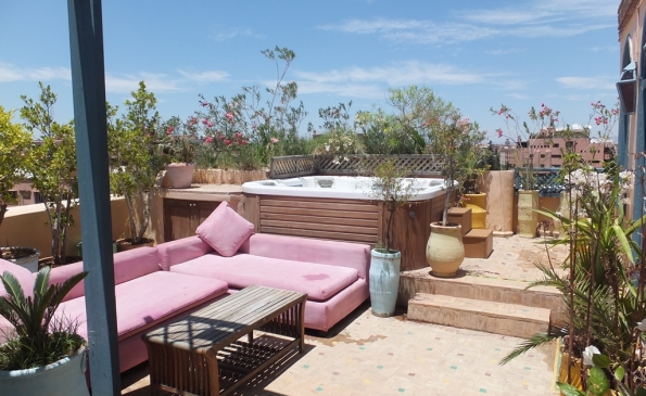 Vente appartement penthouse terrasse hivernage marrakech - Spa terrasse appartement ...