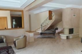 villa meublée location résidence fermée Ain Diab