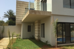 Villa moderne location anfa superieur casablanca