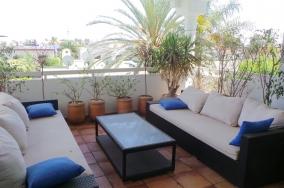 Appartement meublé terrasse location quartier CIL