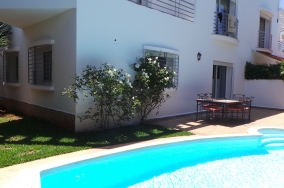 Villa location Ain Diab immobilier Casablanca