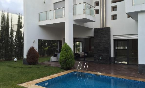 Villa vente Bouskoura immobilier Casablanca