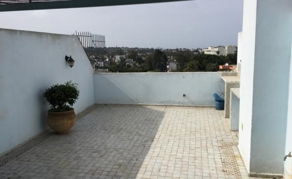 Appartement duplex terrasse location Racine immobilier Casablanca