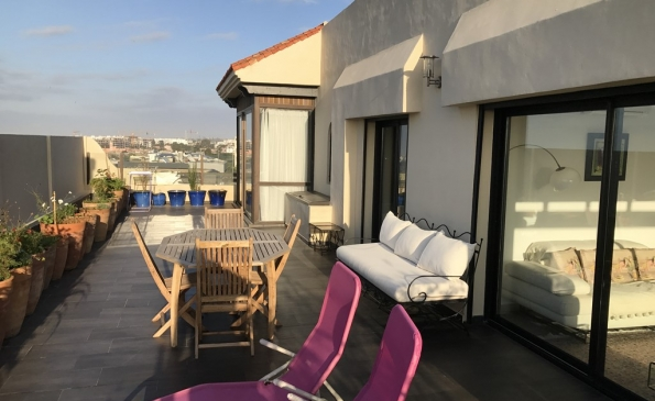 Appartement terrasse vente Casablanca
