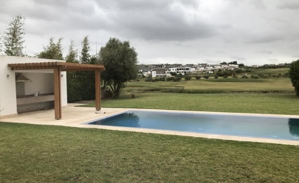 Villa meublee location Bouskoura