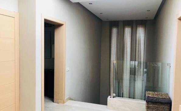 Villa vente résidence fermée Bouskoura Casablanca