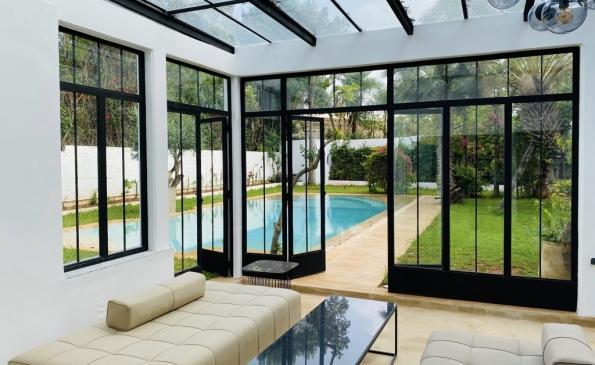 Villa meublée prestige location Californie Casablanca